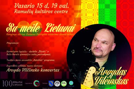 """Vasario 16-osios minėjimas """"Su meile Lietuvai"""""""