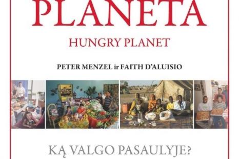 """Fotografijų paroda po atviru dangumi """"Alkana planeta - ką valgo pasaulyje"""""""