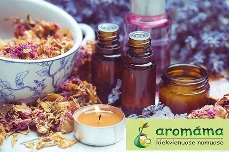 Aromáma: pažintis su aromaterapija