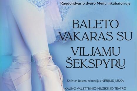 Baleto vakaras su Viljamu Šekspyru