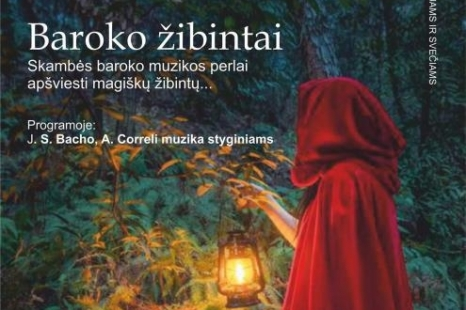 "Koncertas ""Baroko žibintai"""
