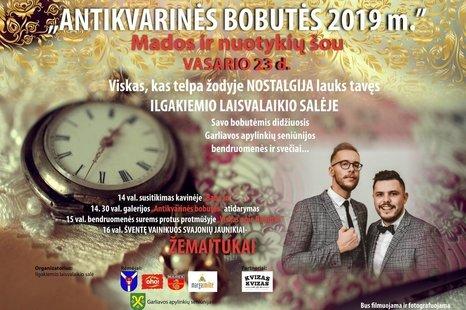 """Mados ir nuotykių šou """"Antikvarinės bobutės 2019"""""""