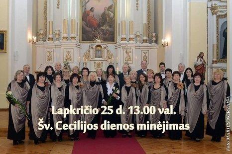 Šv. Cecilijos dienos minėjimas - koncertas