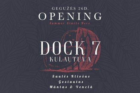 Dock7 vandenlenčių parko atidarymas Kulautuvoje