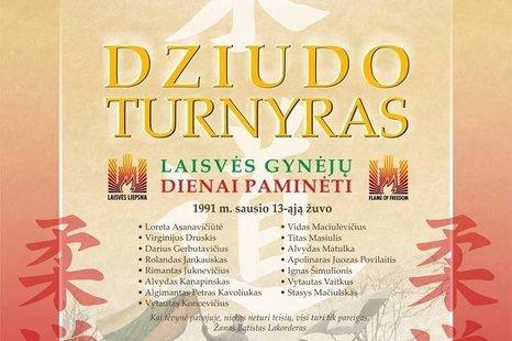 Tarptautinis dziudo turnyras, skirtas Laisvės gynėjų dienai ir Lietuvos nepriklausomybės kovoms atminti