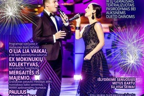 Irūnos ir Mariaus Jampolskio naujametinis koncertas