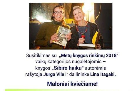 """Susitikimas su """"Metų knygos rinkimų 2018"""""""
