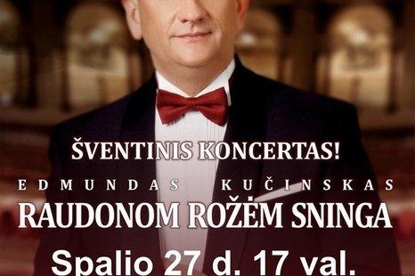 Šventinis Edmundo Kučinsko koncertas