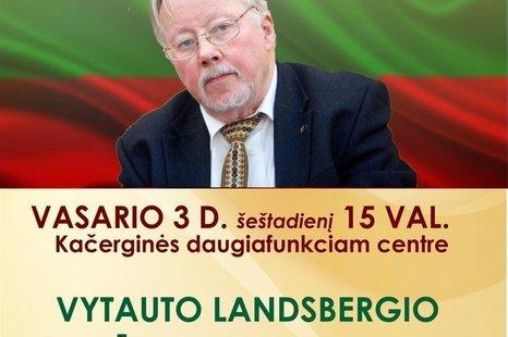 Vytauto Landsbergio kūrybos vakaras