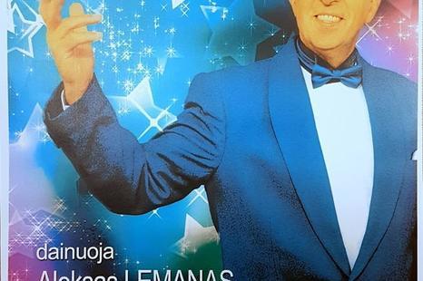 """Alekso Lemano koncertas """"Kas gera - prisiminkime"""""""