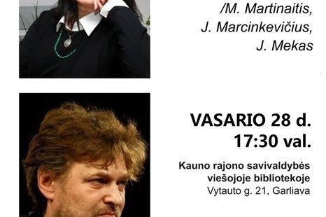 """Literatūrinė-muzikinė programa """"MaMaMe"""""""