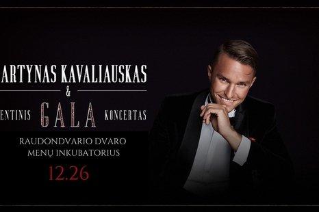 Šventinis Martyno Kavaliausko ir gyvo garso grupės koncertas