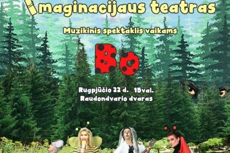 """Muzikinis spektaklis vaikams """"BO"""""""