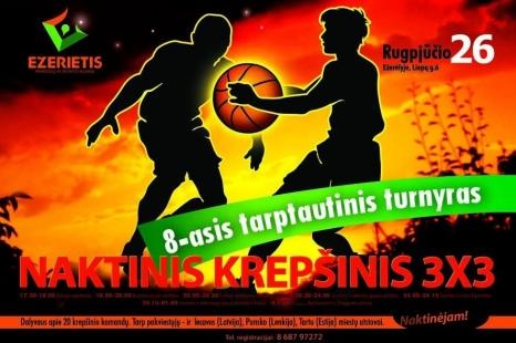 Naktinis krepšinis 3x3
