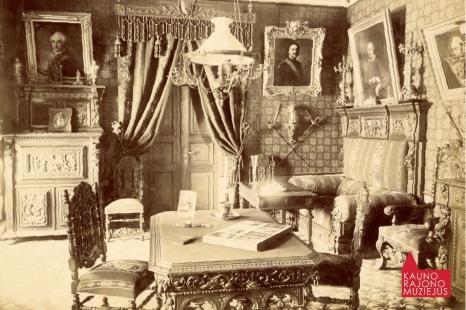 """Viliaus Ksavero Slavinsko tapybos paroda """"Kitokie kitaip"""""""