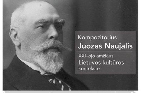 Kompozitoriaus Juozo Naujalio paroda