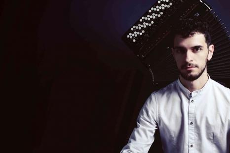 Akordeonisto PIETRO ROFFI iš Italijos koncertas