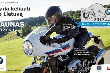 Mototourism sprint 2017 Kaunas