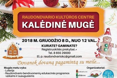 Raudondvario kultūros centro kalėdinė mugė