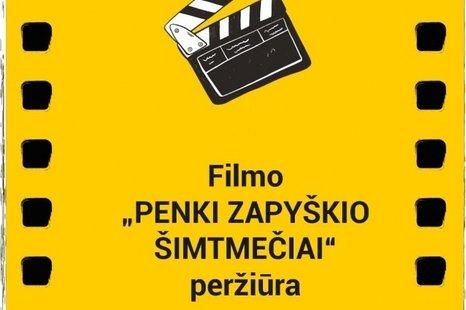 """Filmo """"Penki Zapyškio šimtmečiai"""" peržiūra"""