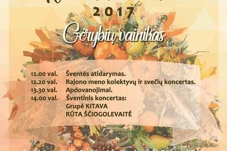 """Kauno rajono derliaus šventė """"Rudens Sambariai"""""""