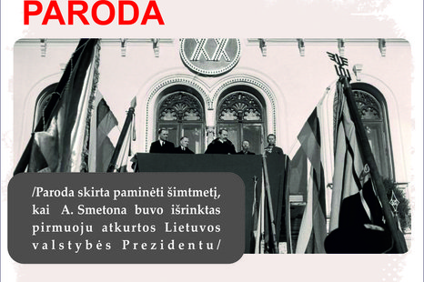 Istorinės LR prezidentūros paroda