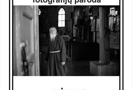"Fotografijų paroda ""Tėvas Stanislovas"""
