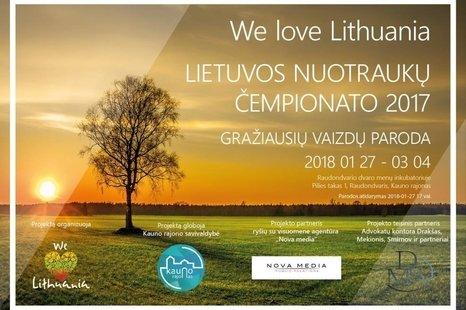 """""""Lietuvos nuotraukų čempionato 2017"""" gražiausių vaizdų paroda"""
