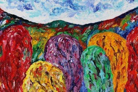 """Jono ir Prano Butkevičių tapybos darbų paroda """"Kartų spalvos"""""""